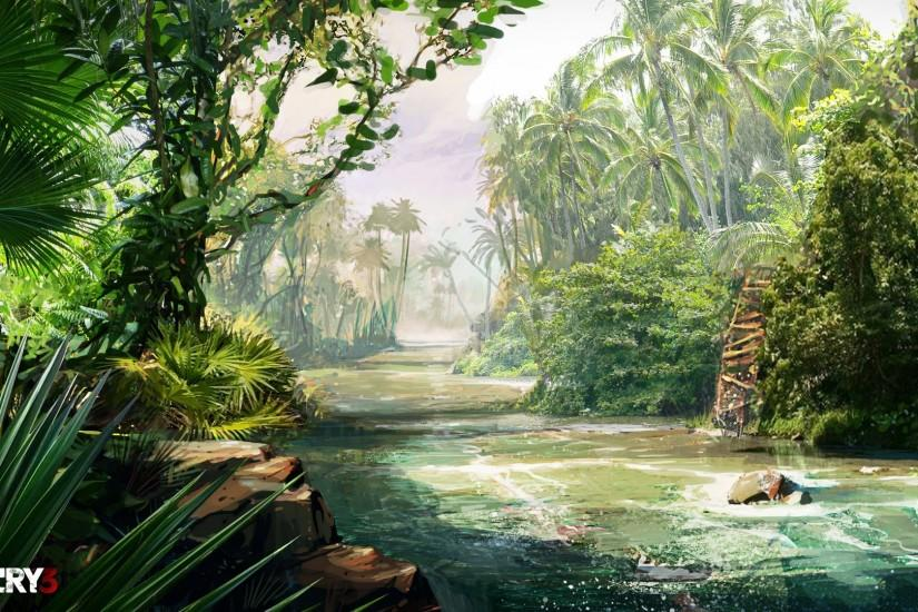 download jungle background 1920x1080 download free