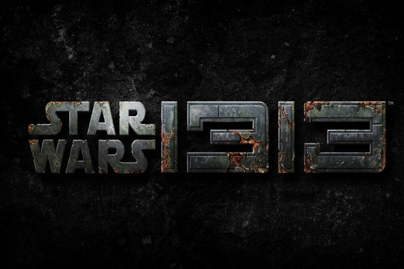 Preview wallpaper star wars 1313, star wars, logo, 2016 3840x2160