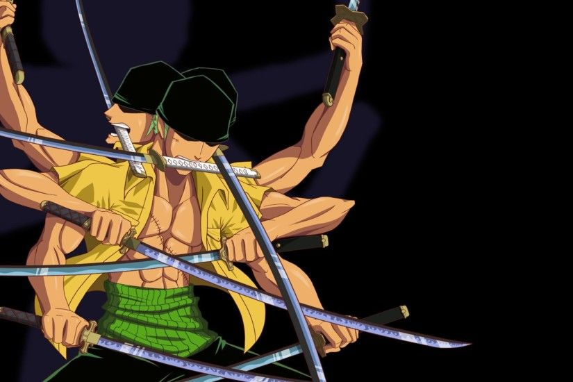 One Piece with a lot of swords wallpaper - Anime wallpapers - #