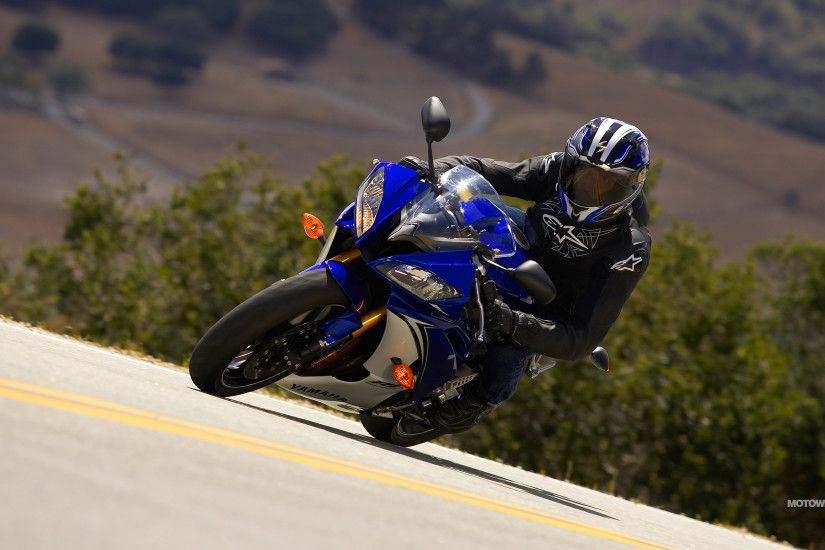 Motorcycle wallpapers Yamaha YZF-R6 ...