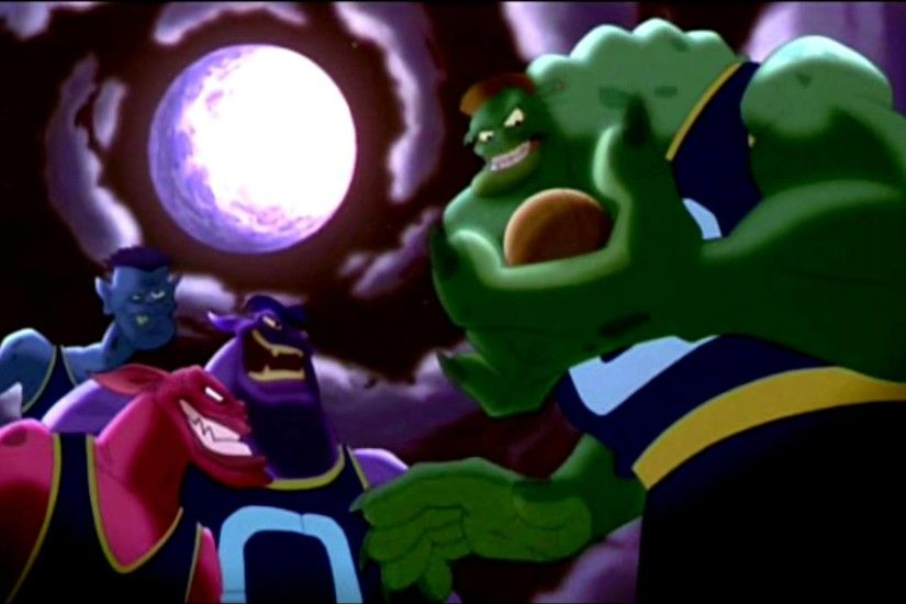 Space Jam - Transformation des extra-terrestres
