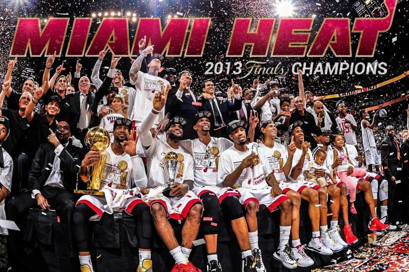 Miami Heat Champions Wallpaper - WallpaperSafari