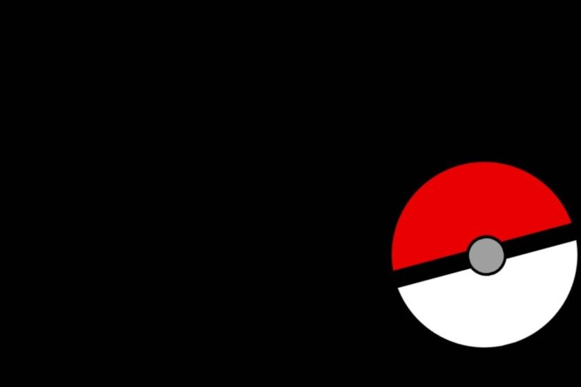 Pokeball black background widescreen desktop mobile iphone android hd  wallpaper and desktop.