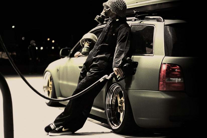 Gas Mask Car Wallpaper 618809