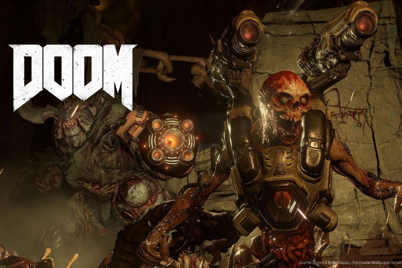 ... Doom 2 - Readme Remaster HQ - YouTube Doom 2 Wallpapers ...