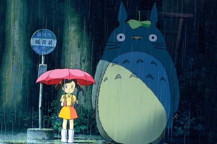 Movie - My Neighbor Totoro Mei Kusakabe Totoro (My Neighbor Totoro)  Wallpaper