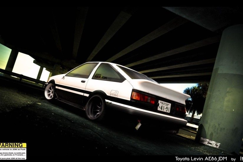 Vehicles For > Toyota Ae86 Initial D Wallpaper