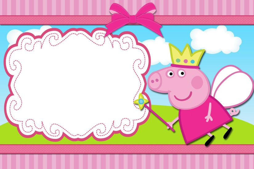 HD wallpapers peppa pig pictures Source · peppa pig birthday invitations  free downloads 100 images peppa