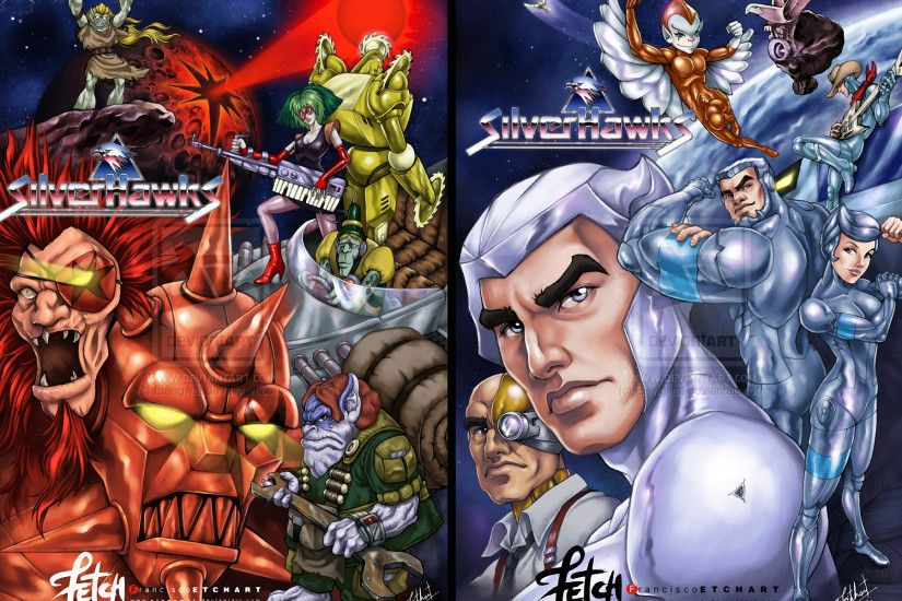 Cartoon - SilverHawks Wallpaper