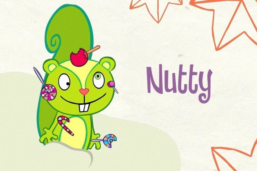 HD Wallpapers Nutty - Happy Tree Friends 2011
