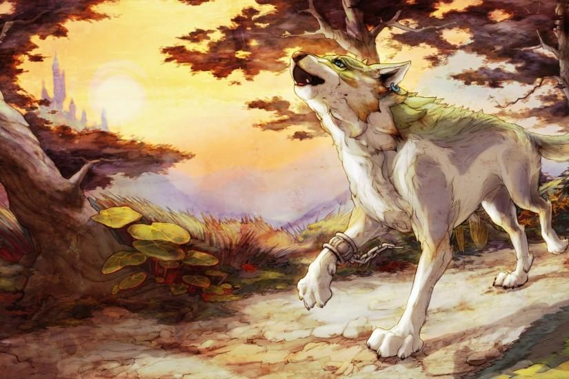 Legend Of Zelda Twilight Princess Wolf Wallpaper ...