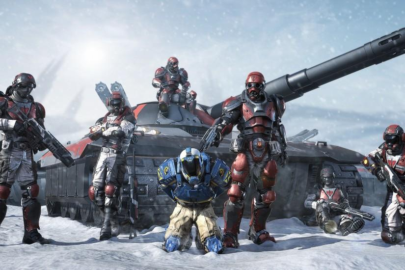 Planetside 2 B:2222-QKH HD Widescreen Pictures
