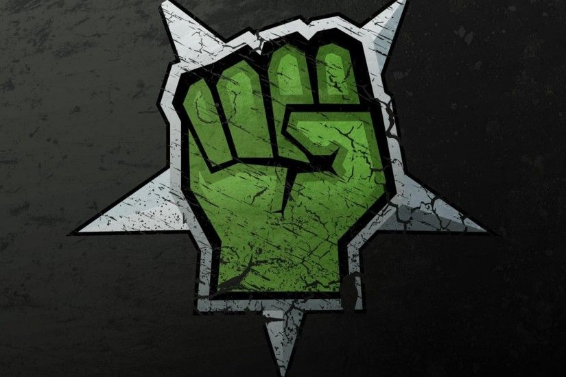 3840x2160 Wallpaper drawing, graffiti, hand, green