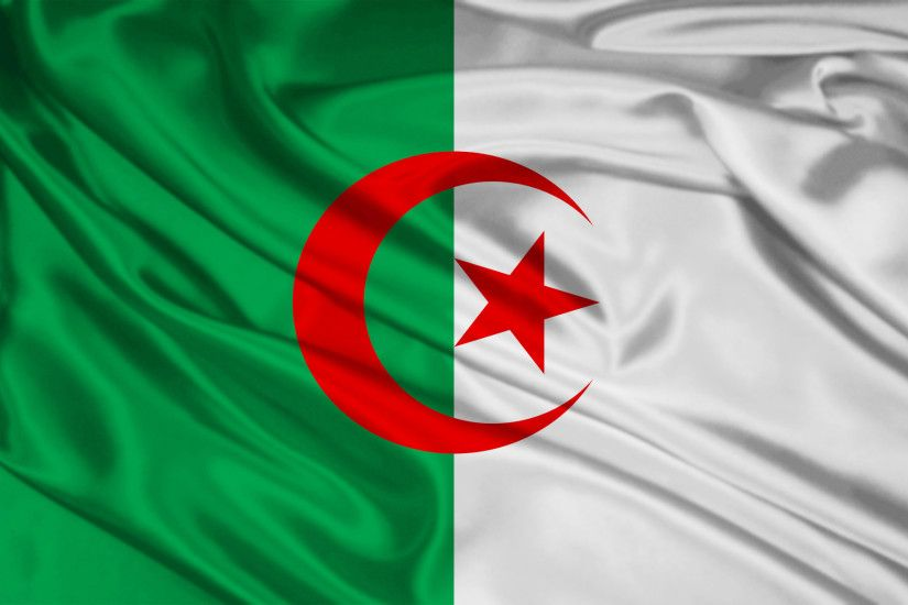 Algeria Flag wallpapers and stock photos
