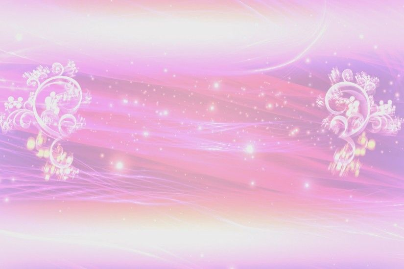 4K Pink Floral Thread of Lights Title Intro Motion Background - YouTube
