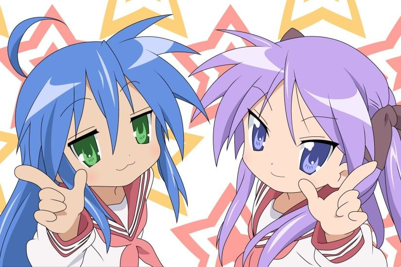 Lucky Star Konata 36226 Dekstop HD Wallpapers - Res: 1920x1200 .