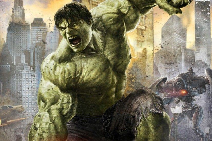 The incredible hulk wallpaper Wallpaper Wide HD