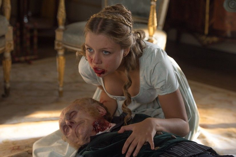 Pride and Prejudice and Zombies wallpaper HD Jane Bennet Bella Heathcote