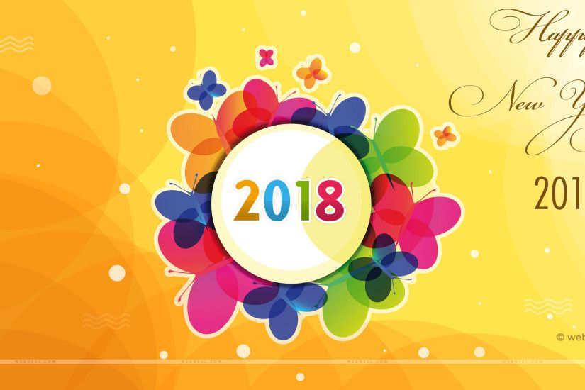 2018 wallpaper happy new year 2018 happy new year wallpapers hd new years