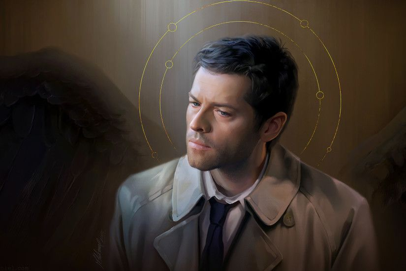 supernatural: Castiel by MathiaArkoniel supernatural: Castiel by  MathiaArkoniel