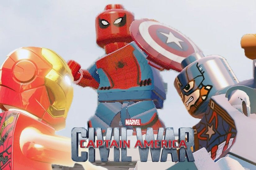 1920x1080 Lego Spider Man Captain America Civil War ( Homecoming DLC ) LEGO  Marvel`s