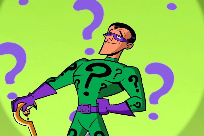 Brave & The Bold Animated Riddler- John Michael Higgins