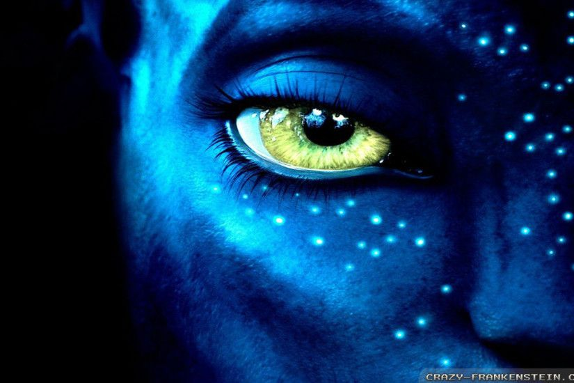 Wallpaper: Eye Avatar movie. Resolution: 1024x768 | 1280x1024 | 1600x1200.  Widescreen Res: 1440x900 | 1680x1050 | 1920x1200