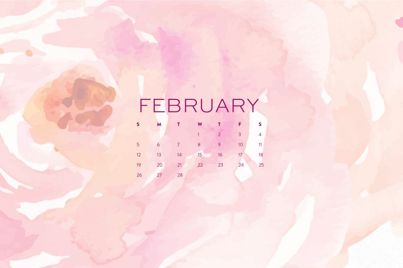 February Wallpapers: Phone, Tablet & Desktop