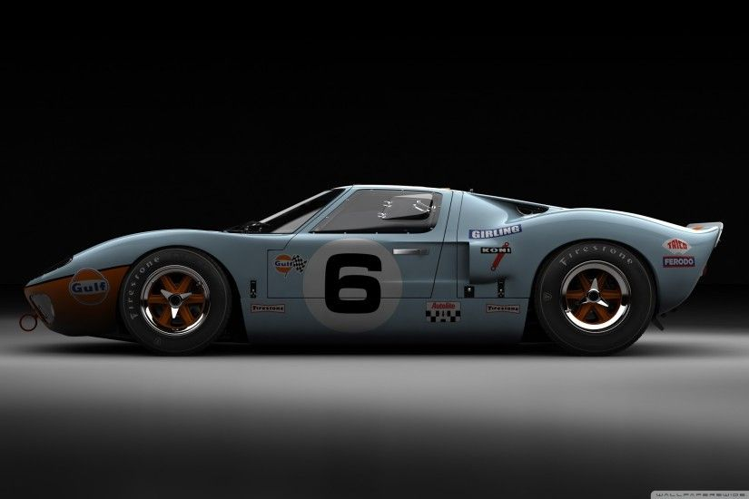 Ford GT40 Le Mans 1969 HD Wide Wallpaper for Widescreen