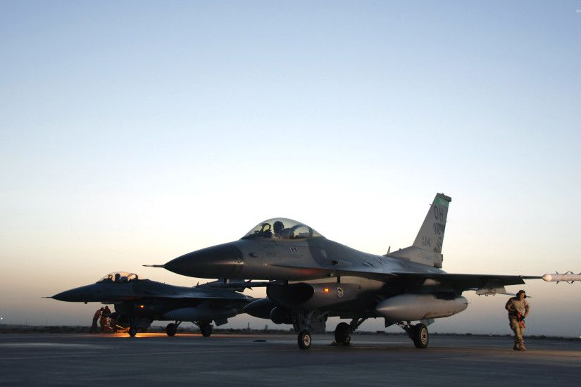 General Dynamics F-16 Fighting Falcon [8] wallpaper