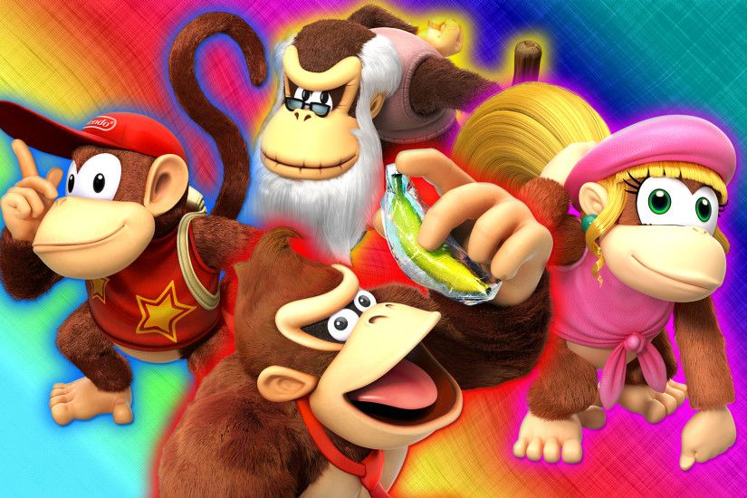 ... Donkey Kong Country: Tropical Freeze Wallpaper by Glench