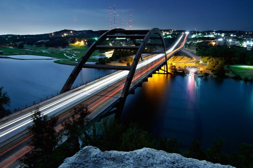 Pennybacker Bridge Austin Wallpapers | HD Wallpapers