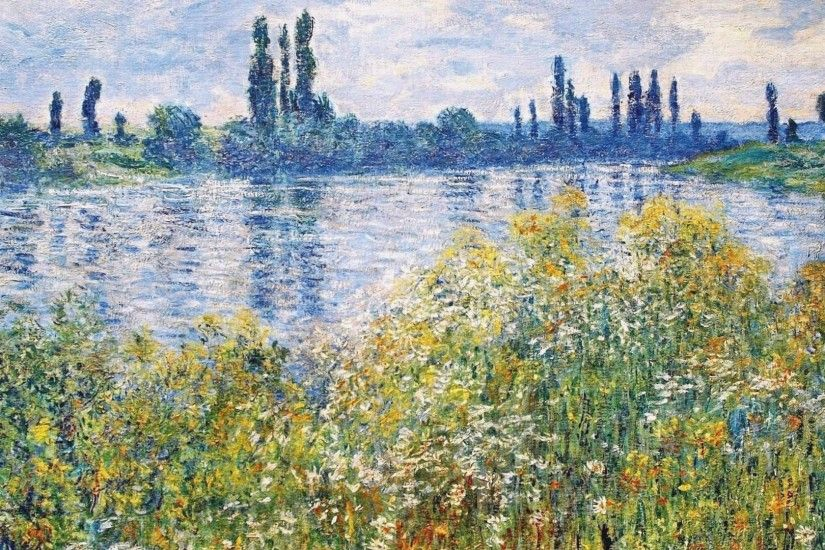 ... WallpaperSafari Impressionist Wallpaper for PC - WallpaperSafari ...