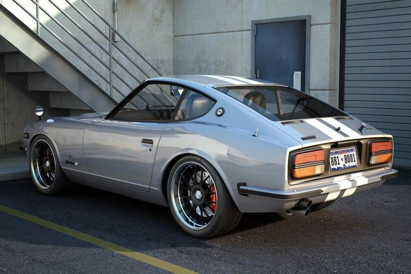 Download Free Nissan Datsun 240Z Wallpaper.