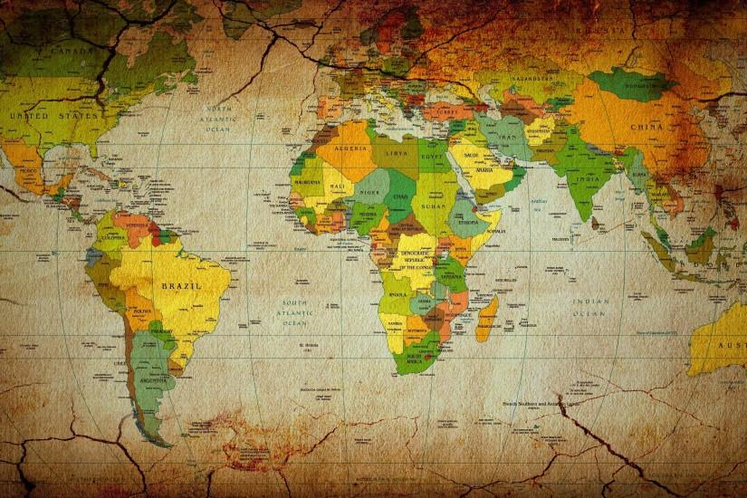 Maps countries continents world map wallpaper background