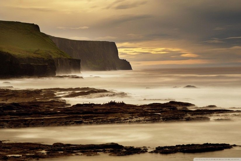 The Cliffs Of Moher Ireland HD Wide Wallpaper for Widescreen