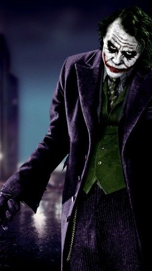 Heath Ledger Joker Iphone 5 Wallpaper | Id: 16364