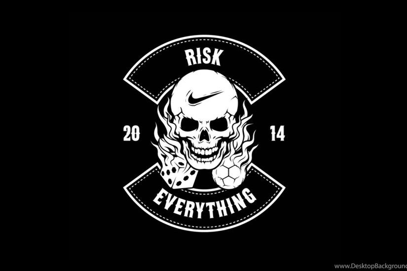 Nike Football Risk Everything Logo 2014 HD Wallpaper.jpg