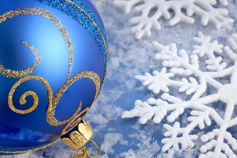 Blue Christmas Background HD.