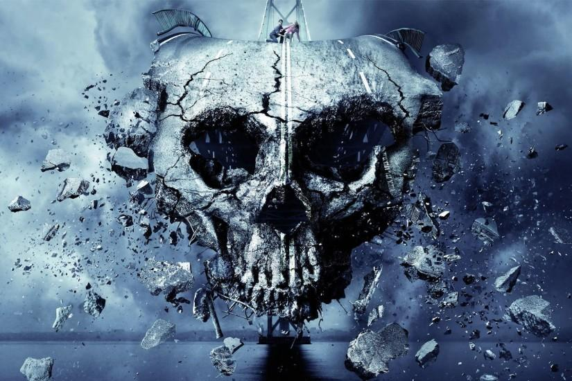 download skull backgrounds 1920x1080 large resolution