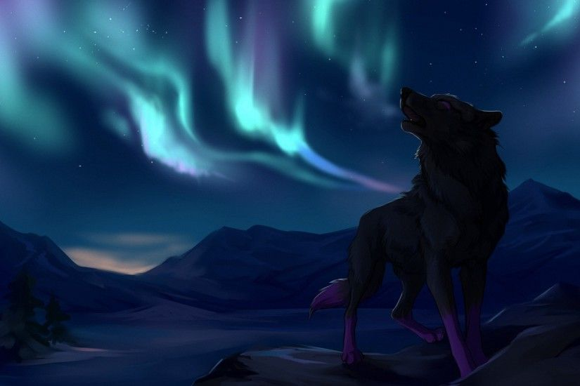 fantasy wolf mountains hd wallpapers