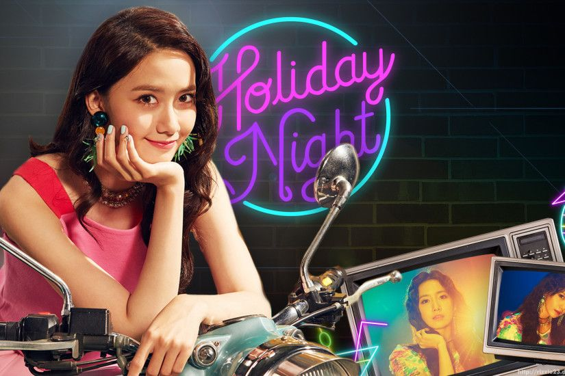 Yoona Holiday Night Wallpaper by Rizzie23 Yoona Holiday Night Wallpaper by  Rizzie23