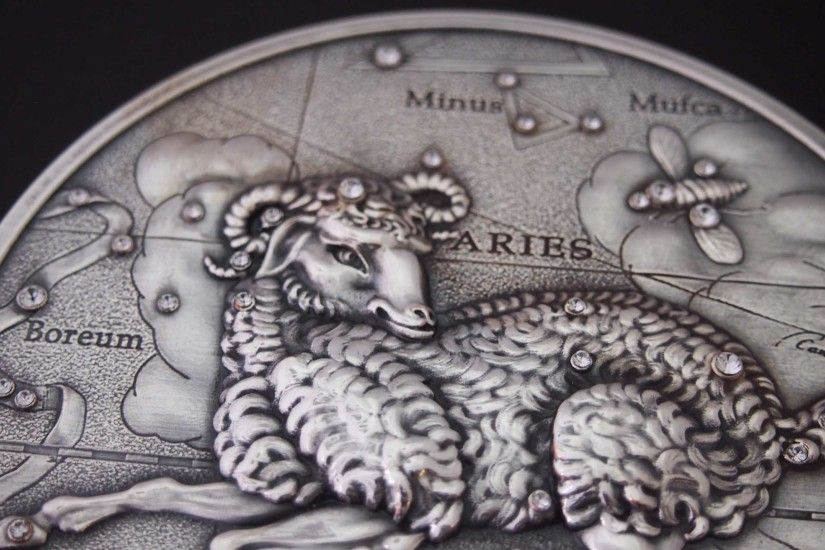 Aries on the coin