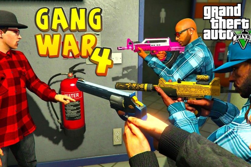 Grand Theft Auto V - GANG WAR PART 4 BLOODS VS CRIPS THE CHASE [HD] -  YouTube
