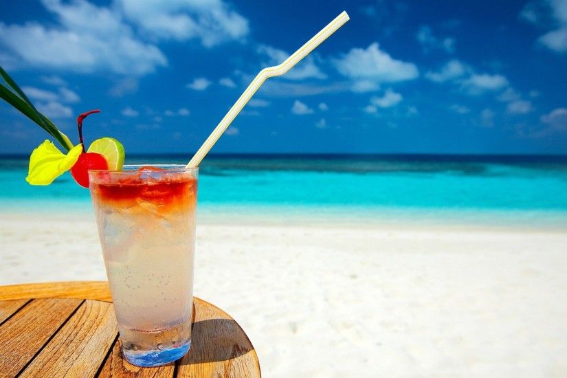 Summer Amazing Background Amazing One Cup Ice HD Wallpaper