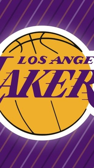 Preview wallpaper los angeles lakers, basketball, logo, sports 1440x2560