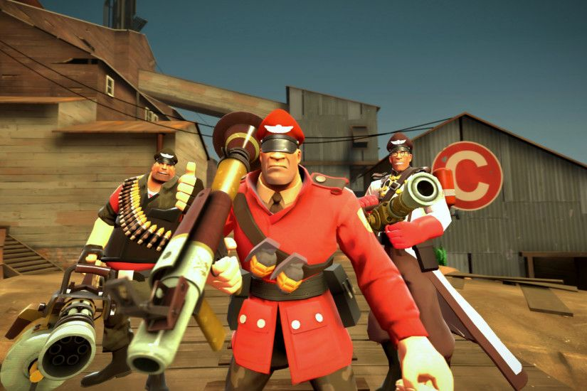 General 1920x1080 Team Fortress 2 Soldier (TF2) Source Filmmaker Heavy (TF2)  Medic