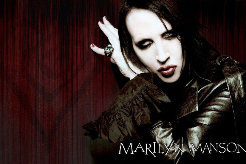 1920x1200 Free download marilyn manson
