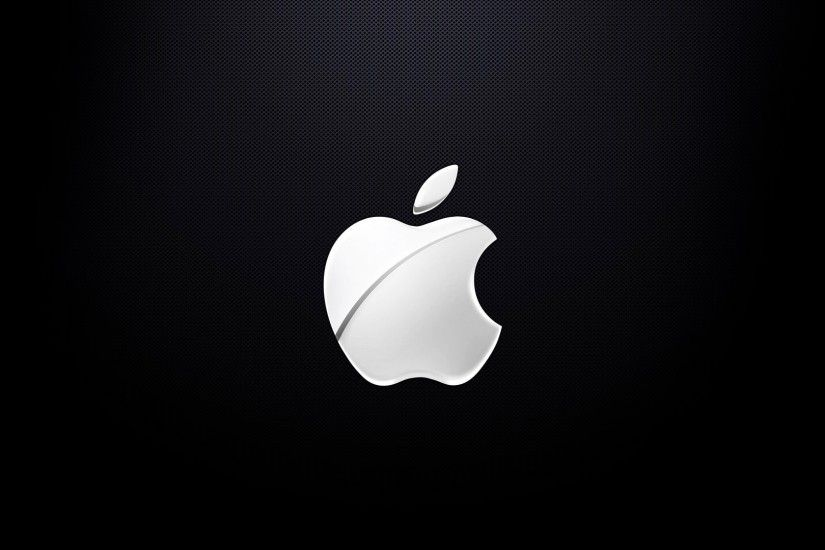 Apple Logo Pictures Black and White HD Wallpaper