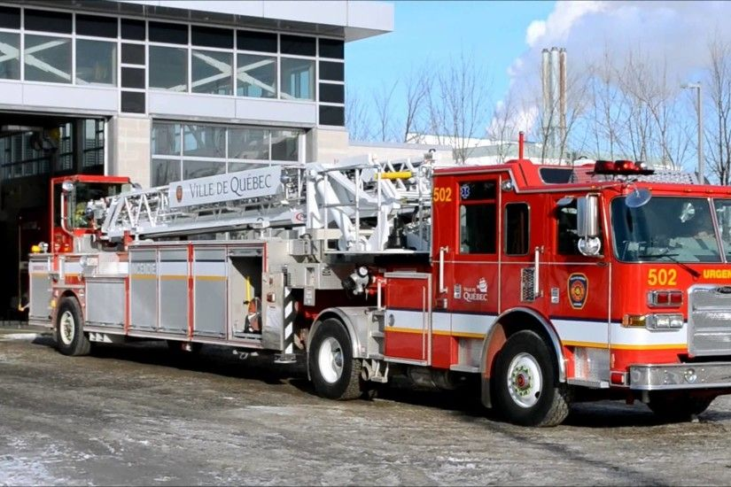 Nice Images Collection: Pierce Fire Truck Desktop Wallpapers